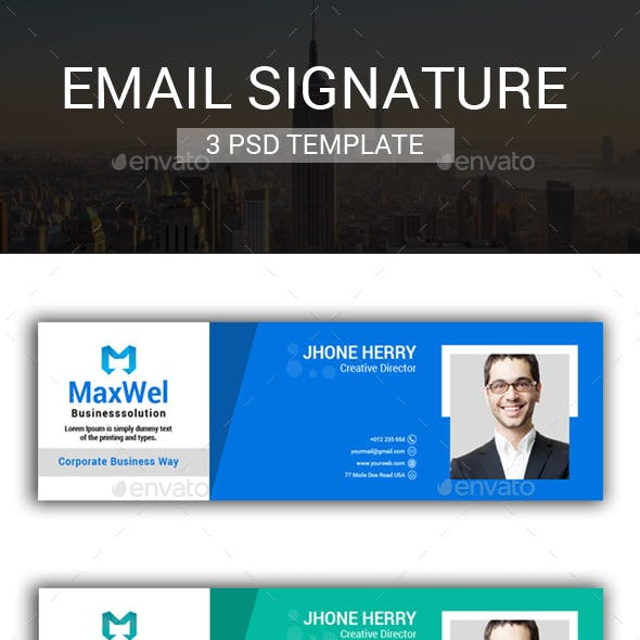 HTML and Signature Web Elements from GraphicRiver