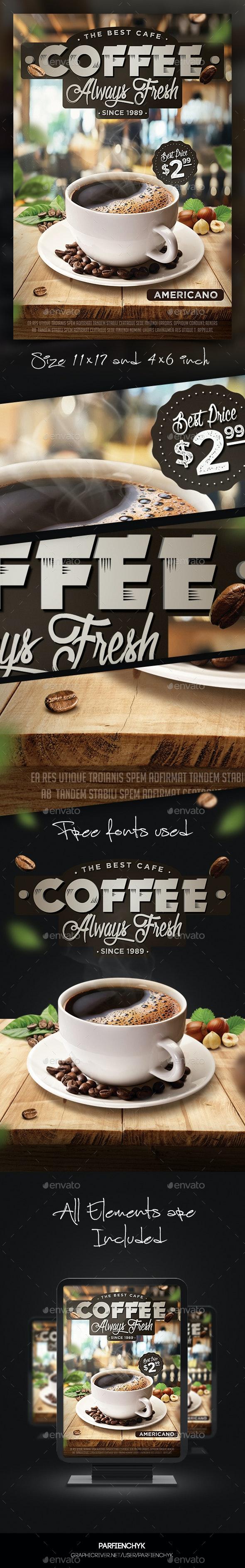 Coffee Flyer Template - Restaurant Flyers
