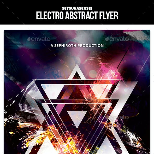 Electro Abstract Flyer