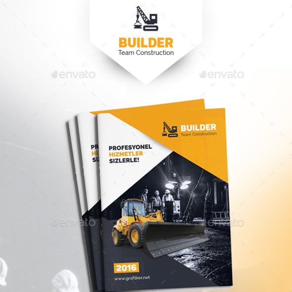 Construction Brochure Templates