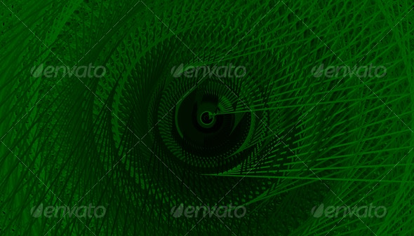 Green Spiral Lines Background - Backgrounds Graphics