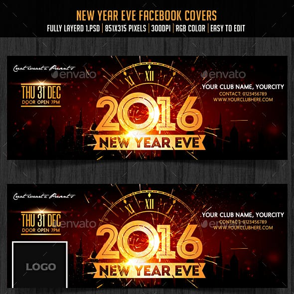New Year Eve Facebook Cover