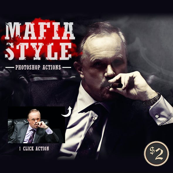 Mafia Styles Photoshop Actions