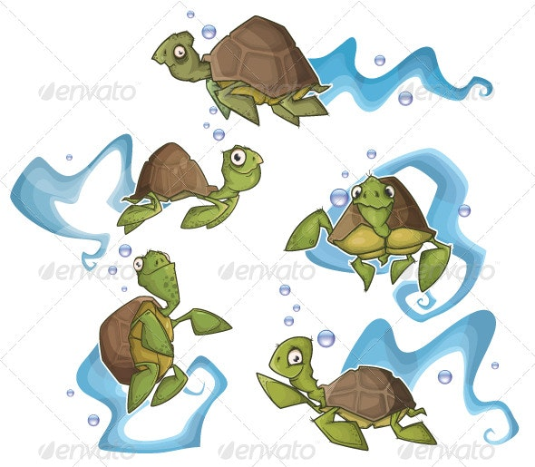 Turtles - Characters Vectors