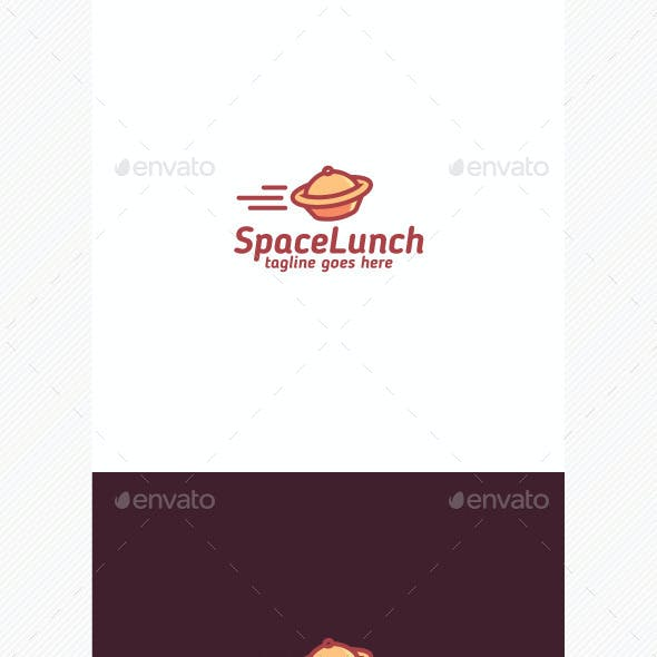 Space Lunch Logo