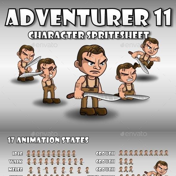 Adventurer Spritesheet 11
