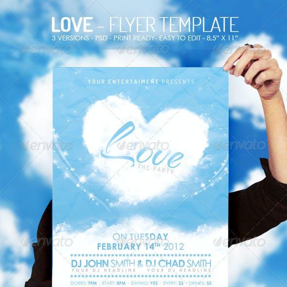 Love - Flyer Template