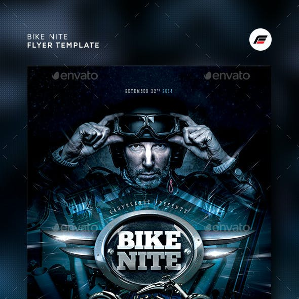 Bike Nite Flyer Template
