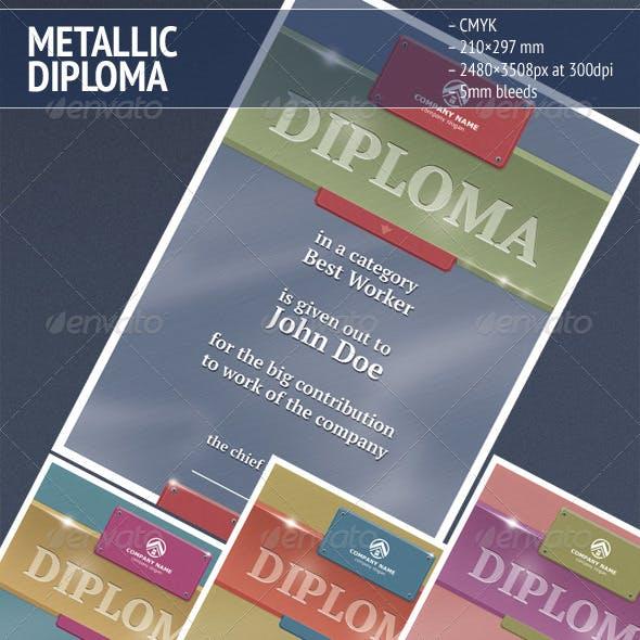 Metallic Diploma