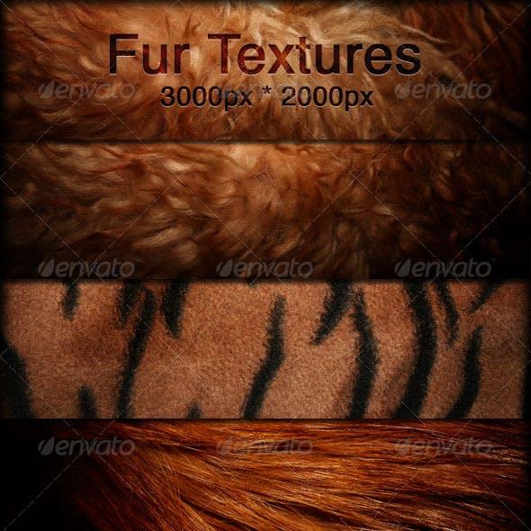 Fur Textures - Faux Fur Fabrics