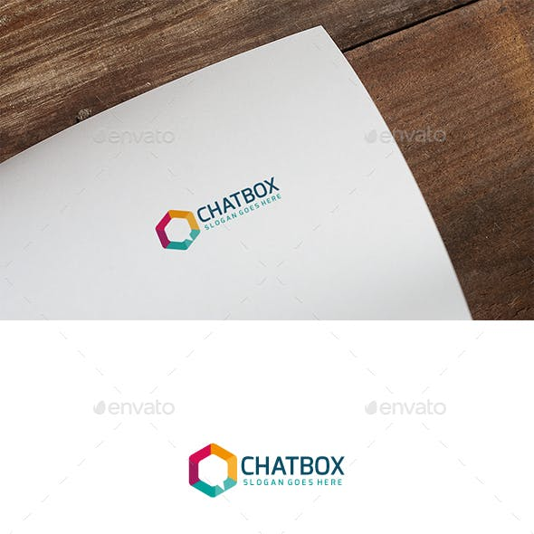 Chat Box Logo
