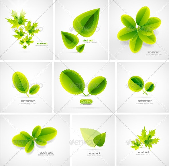 Vector leaves - Nature Conceptual