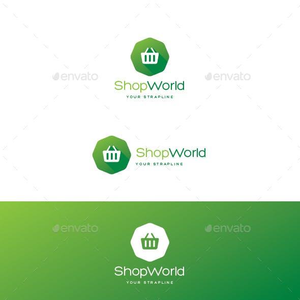 Shop World Logo