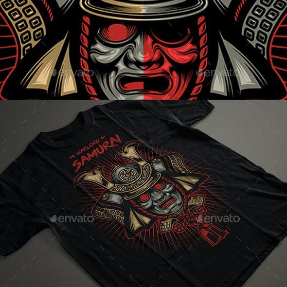 Warlord Samurai T-shirt