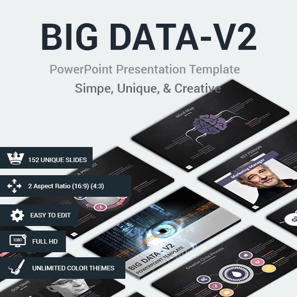 BIG DATA-V2 PowerPoint Presentation Template