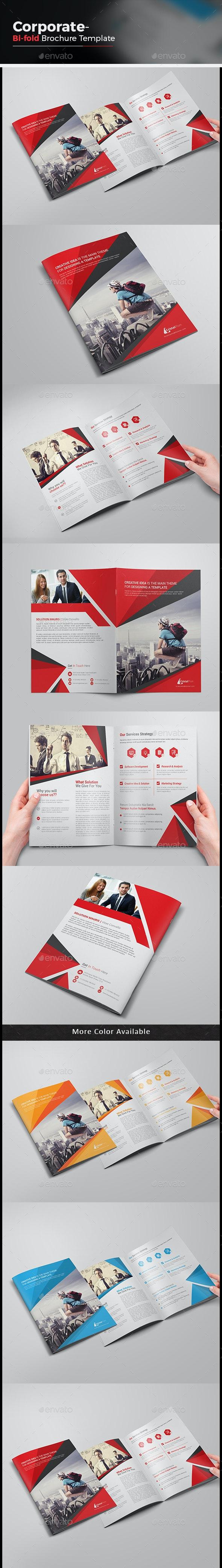 Business Bi-fold Brochure-Multipurpose - Corporate Brochures