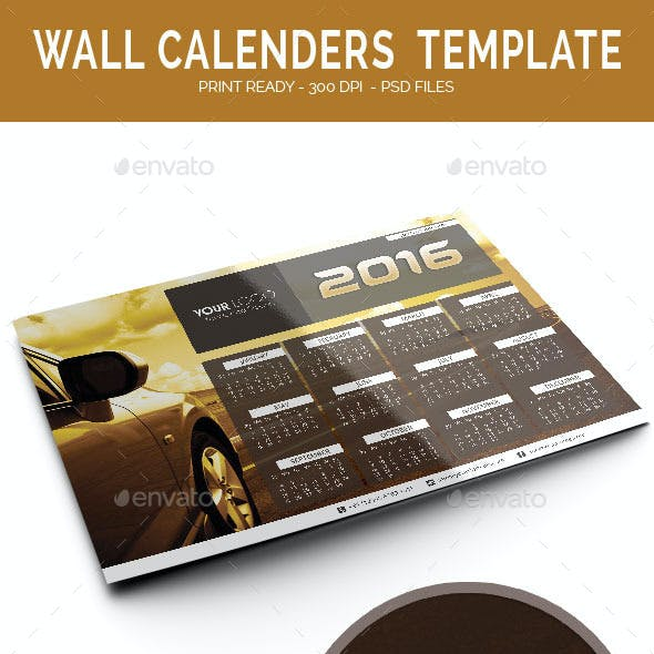 Calenders Templates 2016