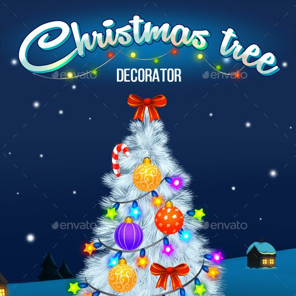 Christmas tree decorator kit