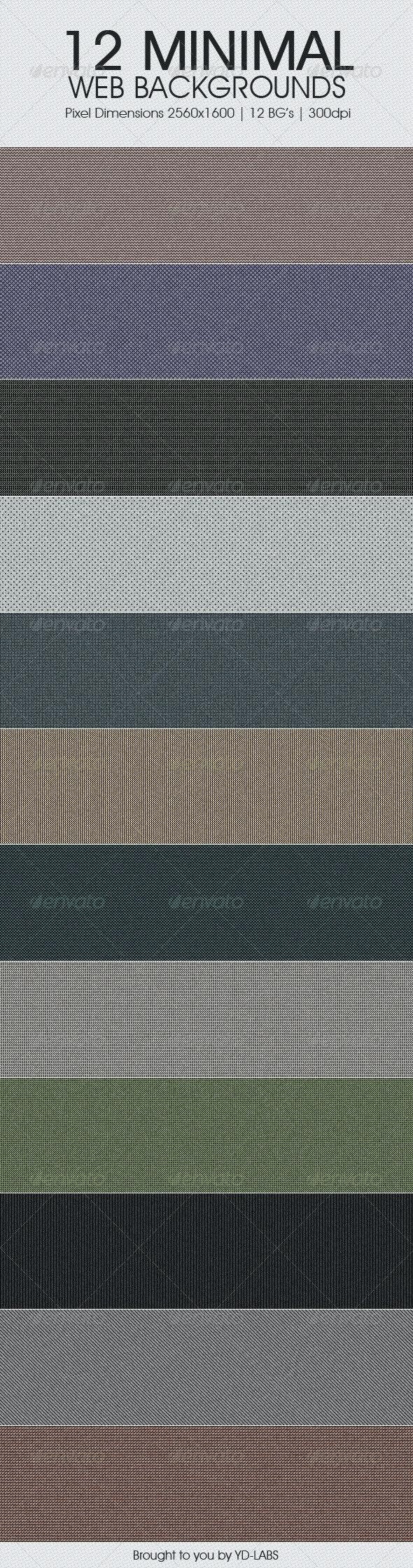 12 Minimal Web Backgrounds - Miscellaneous Backgrounds