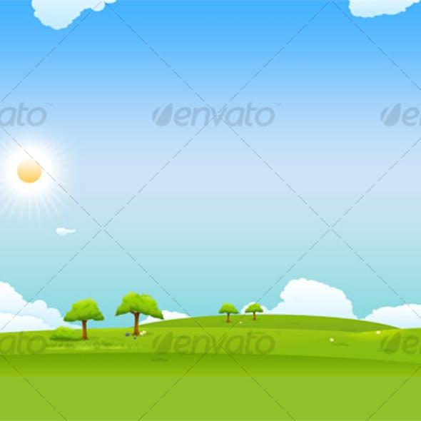 Landscape Design Background
