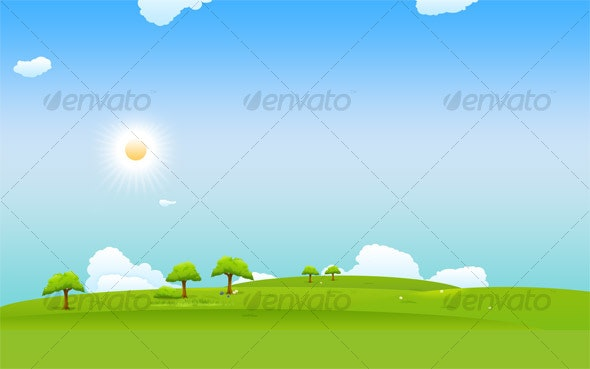 Landscape Design Background - Backgrounds Graphics
