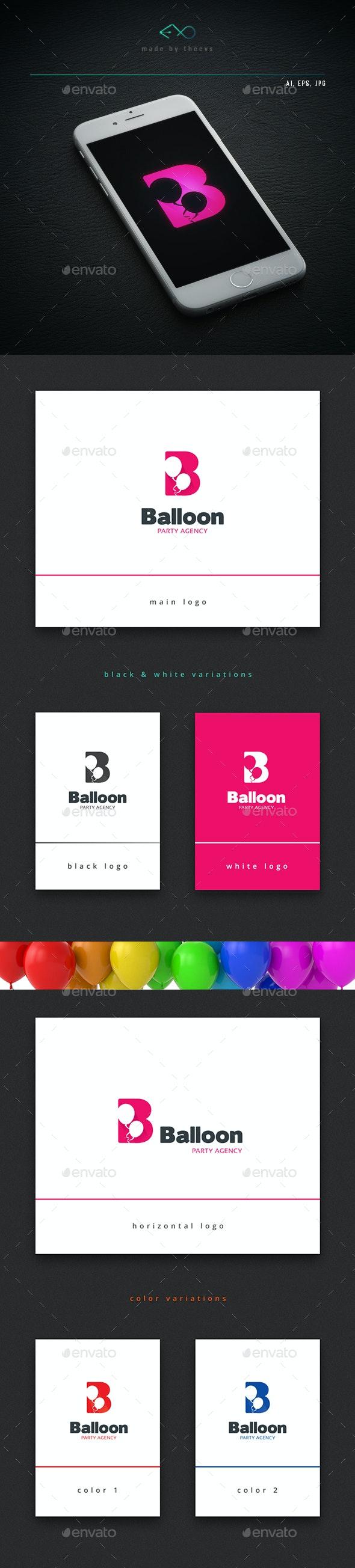 Balloon - Letters Logo Templates