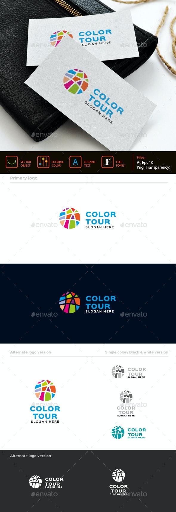 Color Ball logo - Symbols Logo Templates