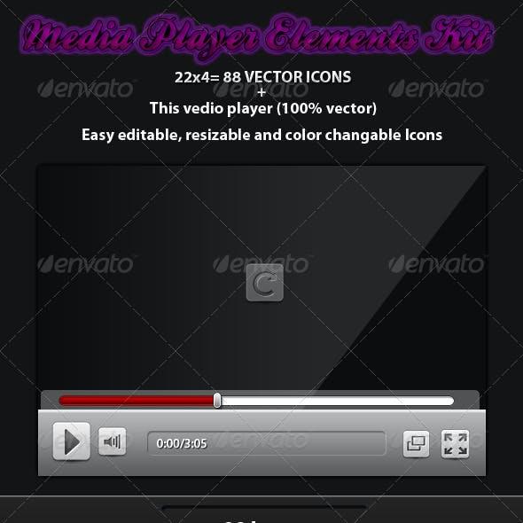 Media Player Elements Kit
