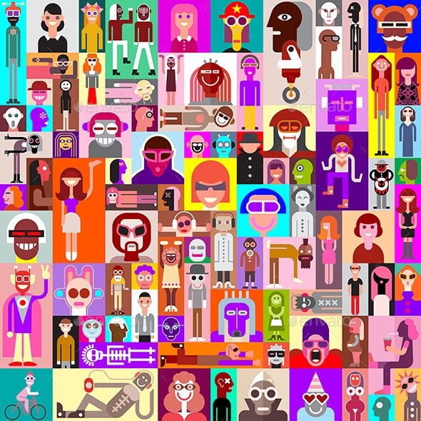 People - People Characters