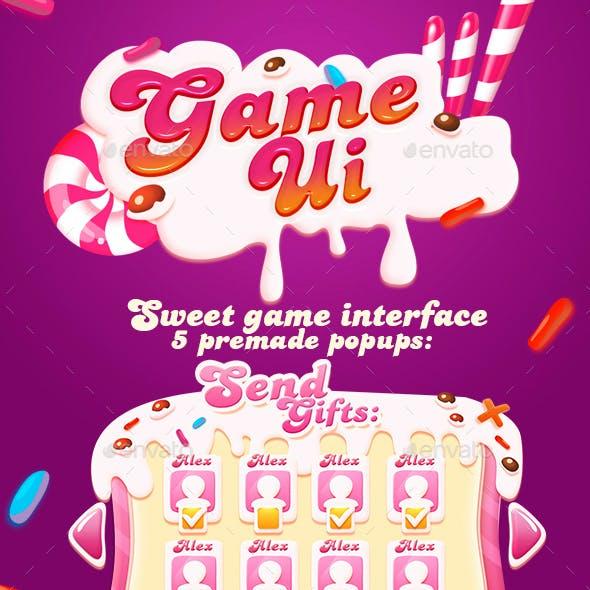 Sweet GUI + Game Logo