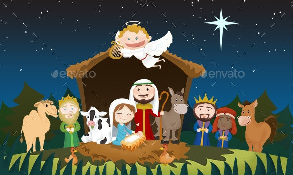 Christmas Jesus Birth Images.Christmas Jesus Birth By Ponchogtz Graphicriver