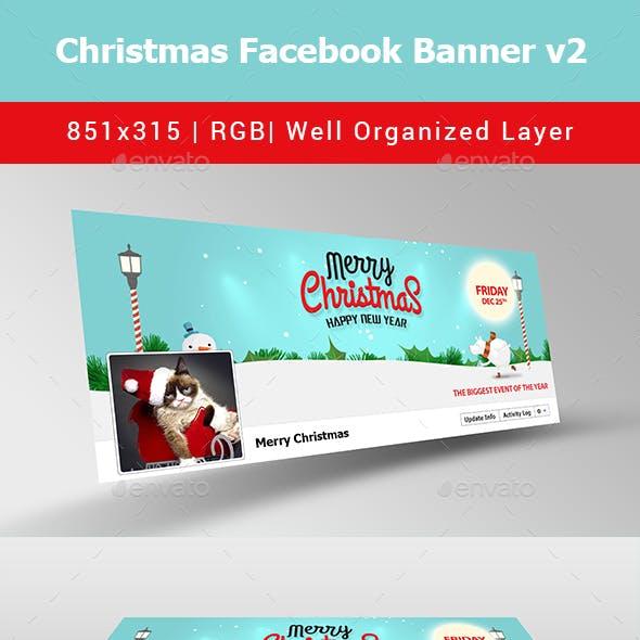 Christmas Facebook Banner v2