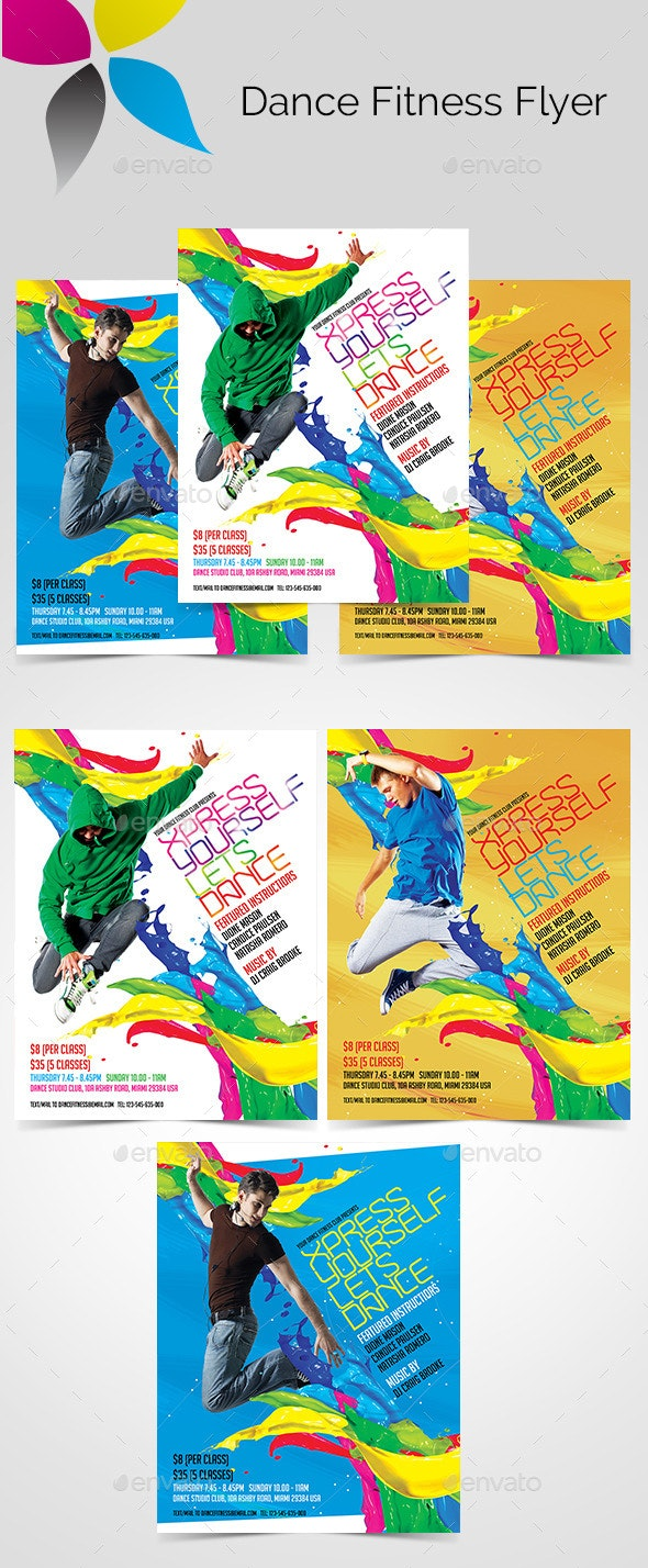 Dance Fitness Flyer - Sports Events