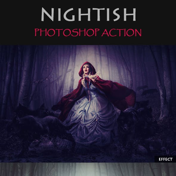 Nightish Photoshop Action