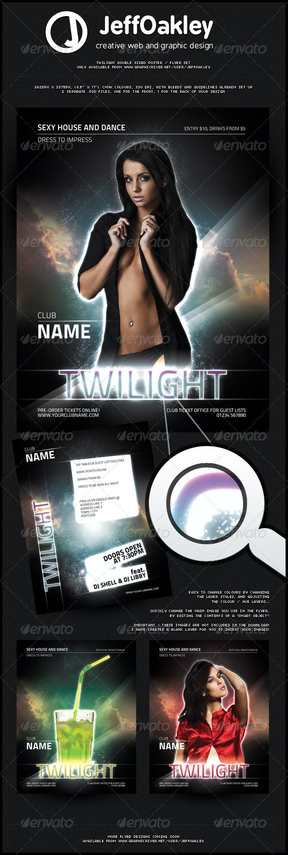 Twilight Poster / Flyer - Clubs & Parties Events