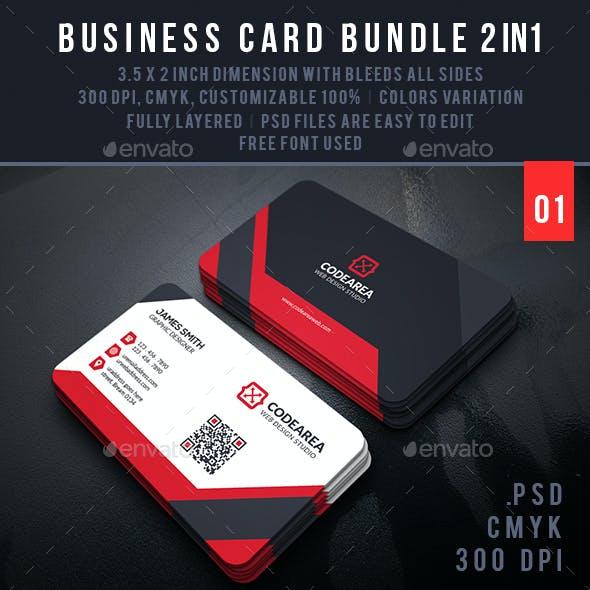 Professional Business Card Bundle