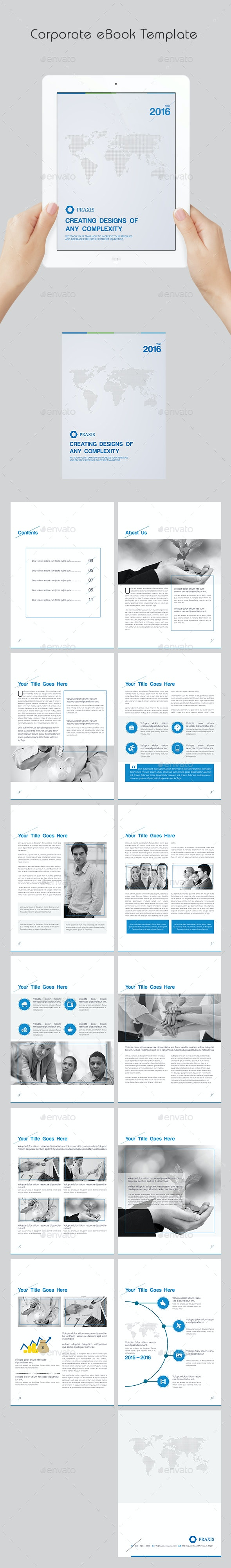 Corporate eBook Template - Digital Books ePublishing