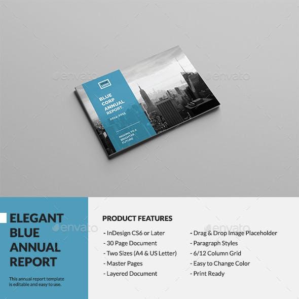 Elegant Blue Annual Report