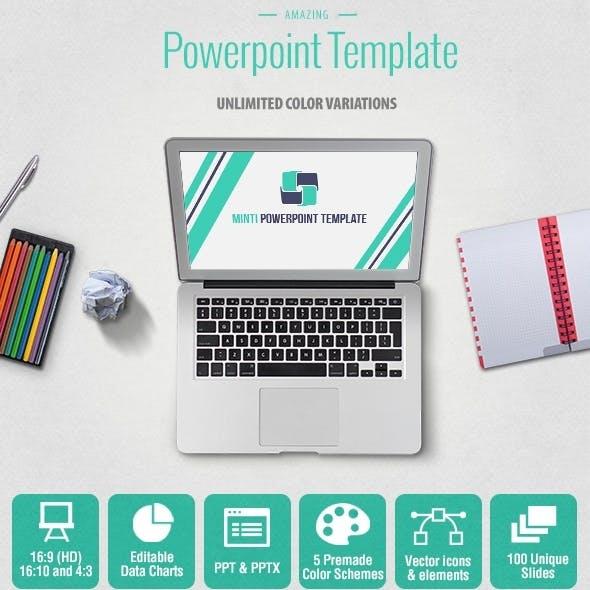 Minti Multipurpose Powerpoint Presentation