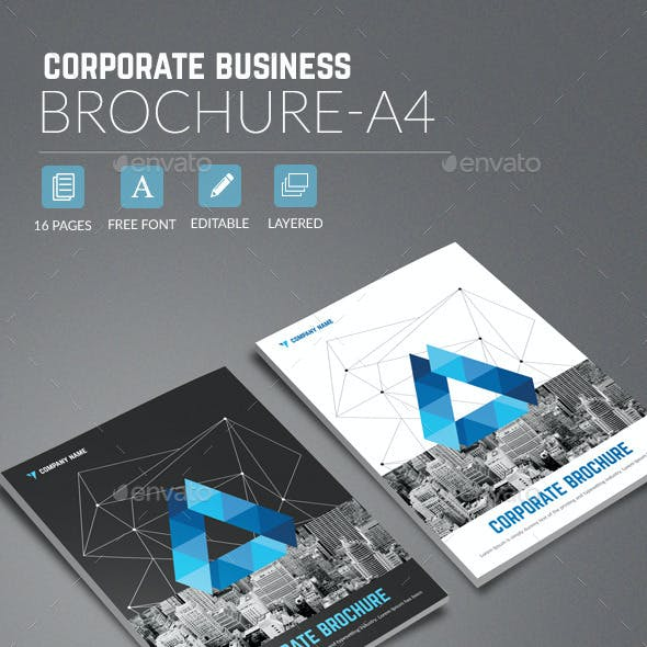Corporate Business Brochure A4