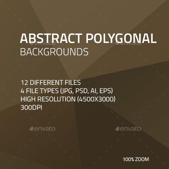 Abstract Polygonal Backgrounds 3