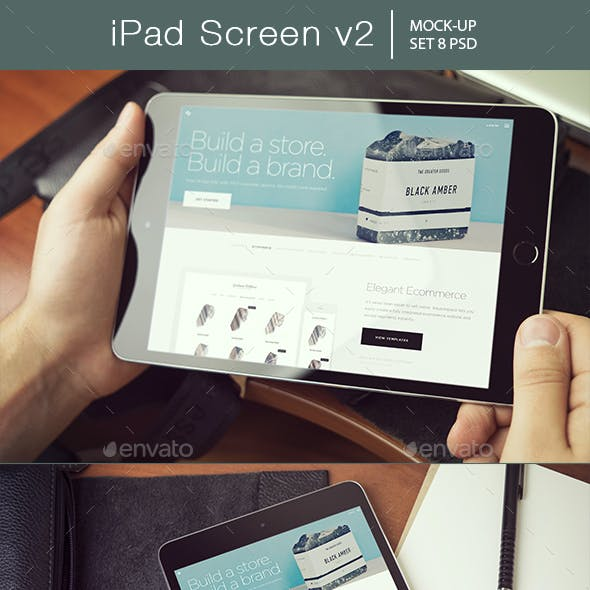 iPad Screen Mockup v2