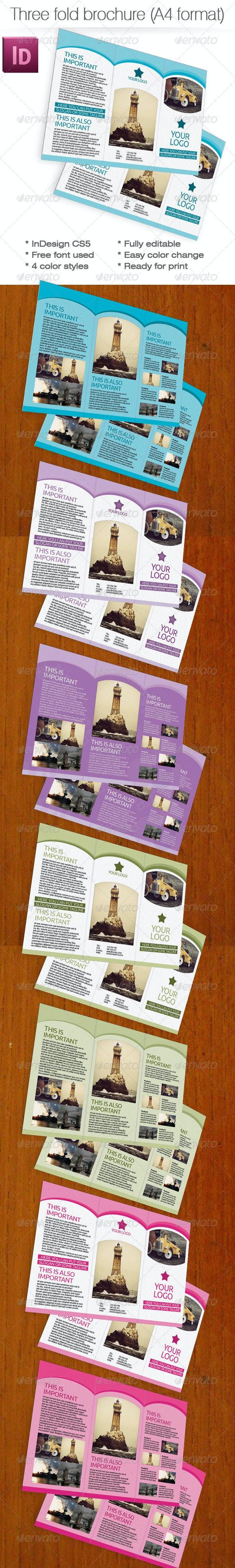 Three Fold Brochure - Corporate Brochures