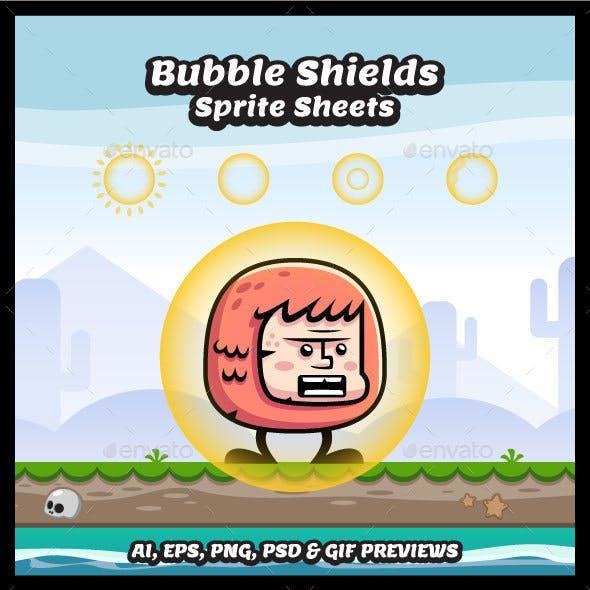 Bubble Shield Sprite Sheets