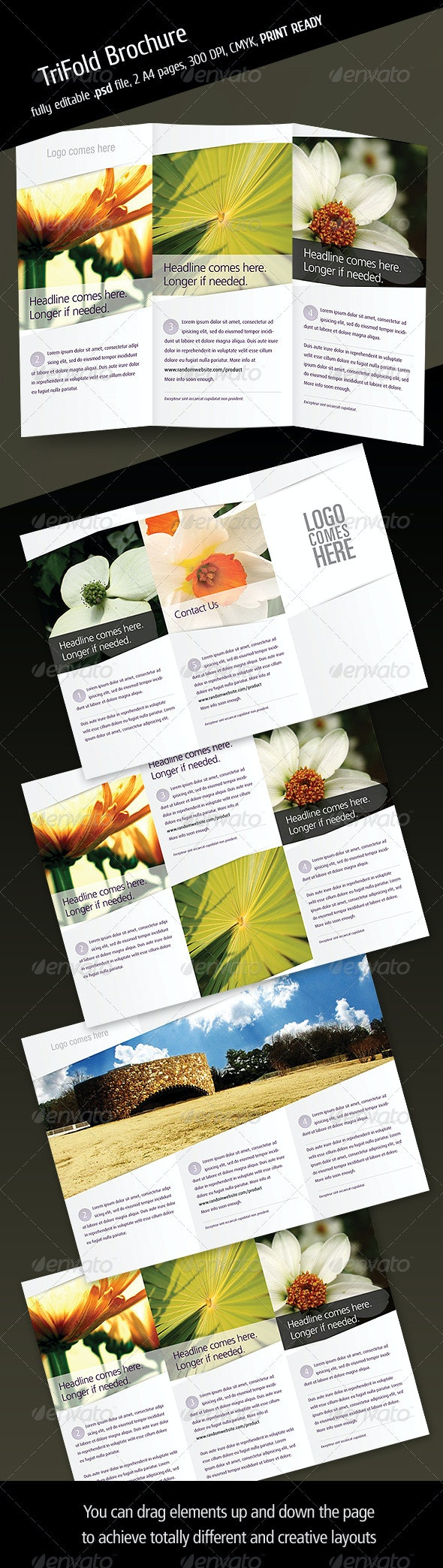 Tri Fold Brochure V3 - Corporate Brochures