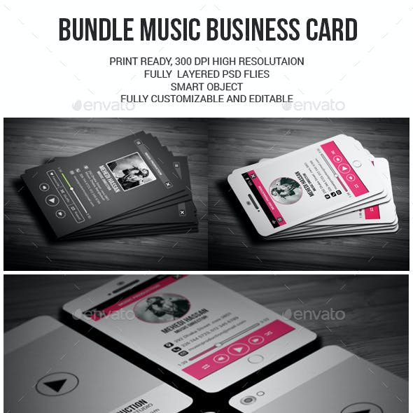 Bundle Music Business Card