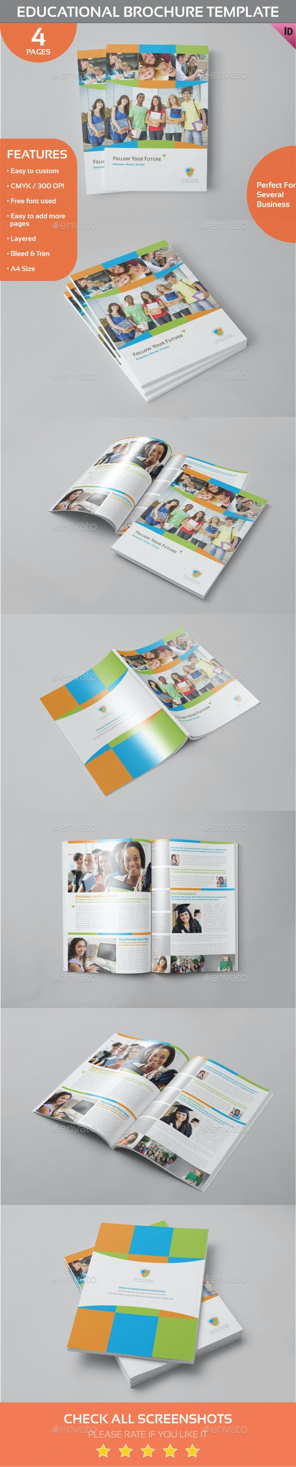 Educational Brochure Template - Informational Brochures