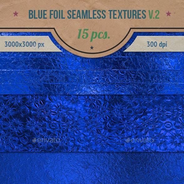 Blue Foil Seamless HD Textures Pack v.2