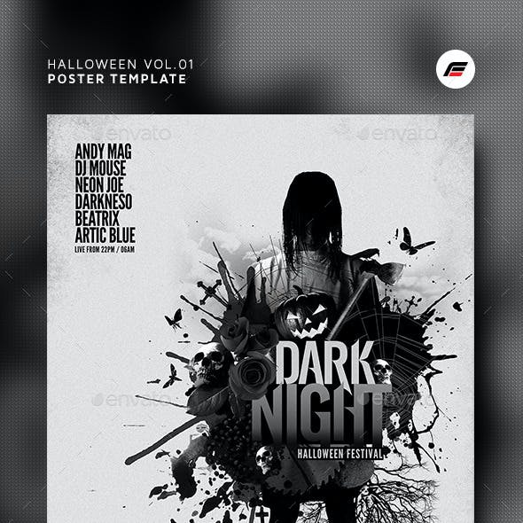 Halloween Flyer/Poster Vol.01