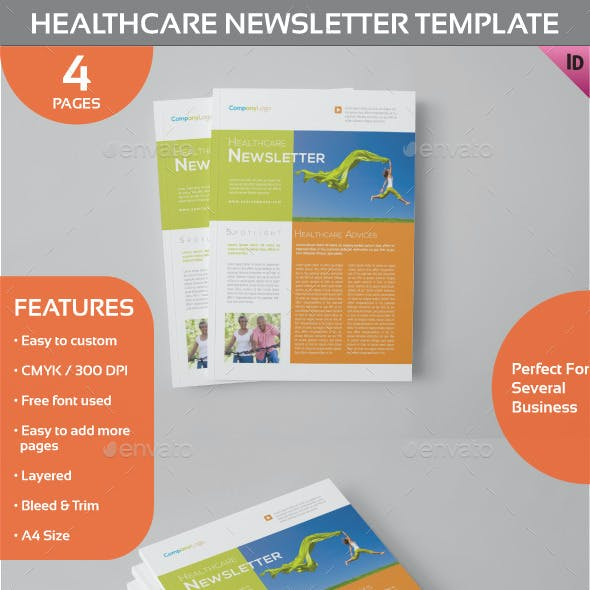 Healthcare Newsletter Template